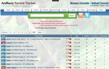 AniRena Torrent追踪器